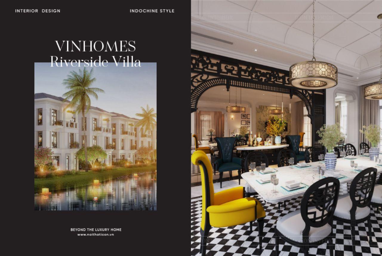 thiết kế nội thất villa vinhomes