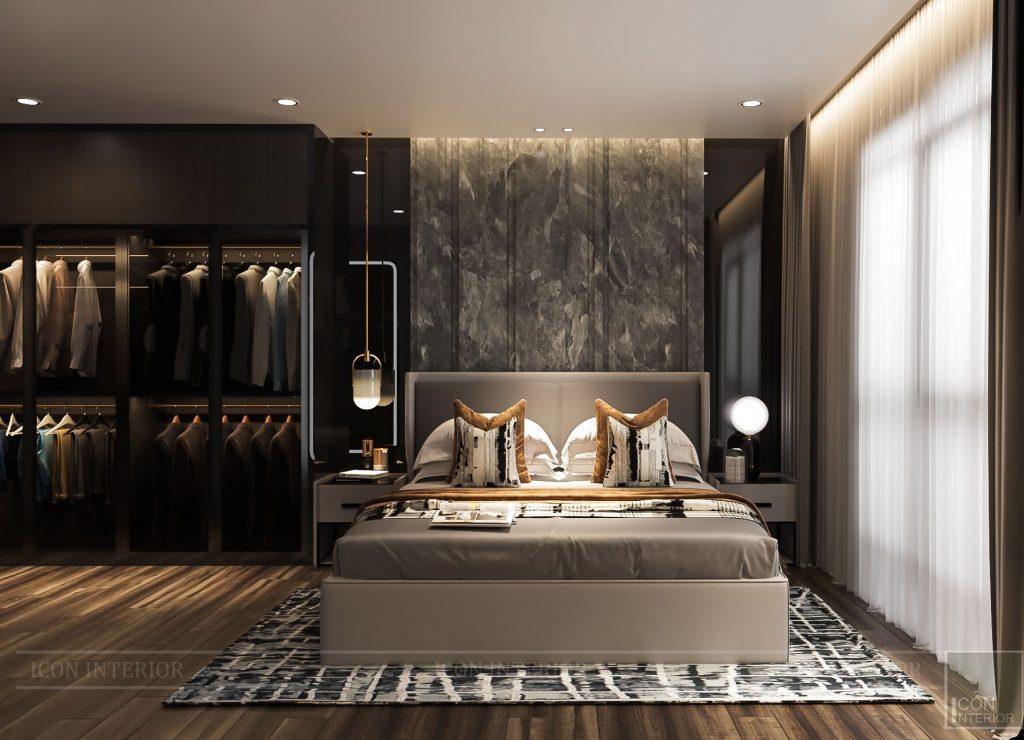 thiết kế nội thất căn hộ 56m2