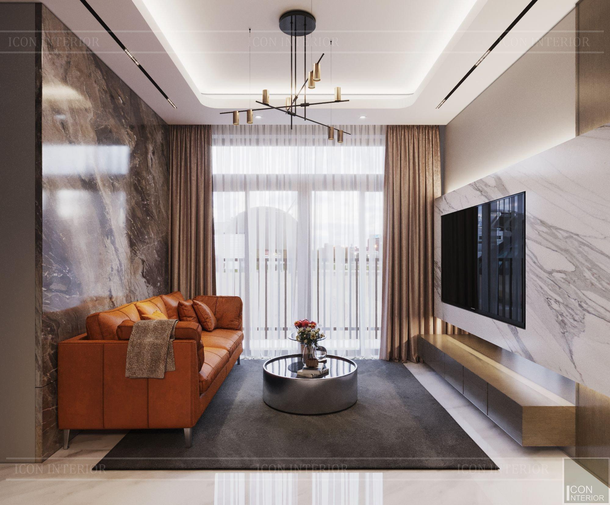 thiết kế nội thất căn hộ chung cư 40m2