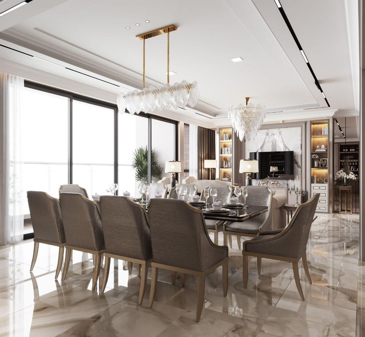 bàn ăn ghế ăn nội thất chung cư