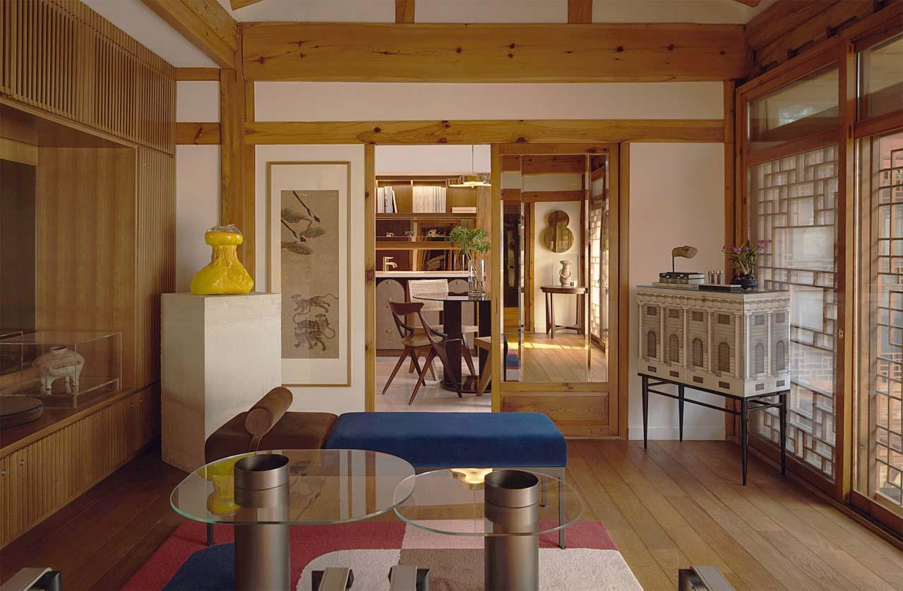 thiết kế nội thất chung cư phong cách hàn quốc