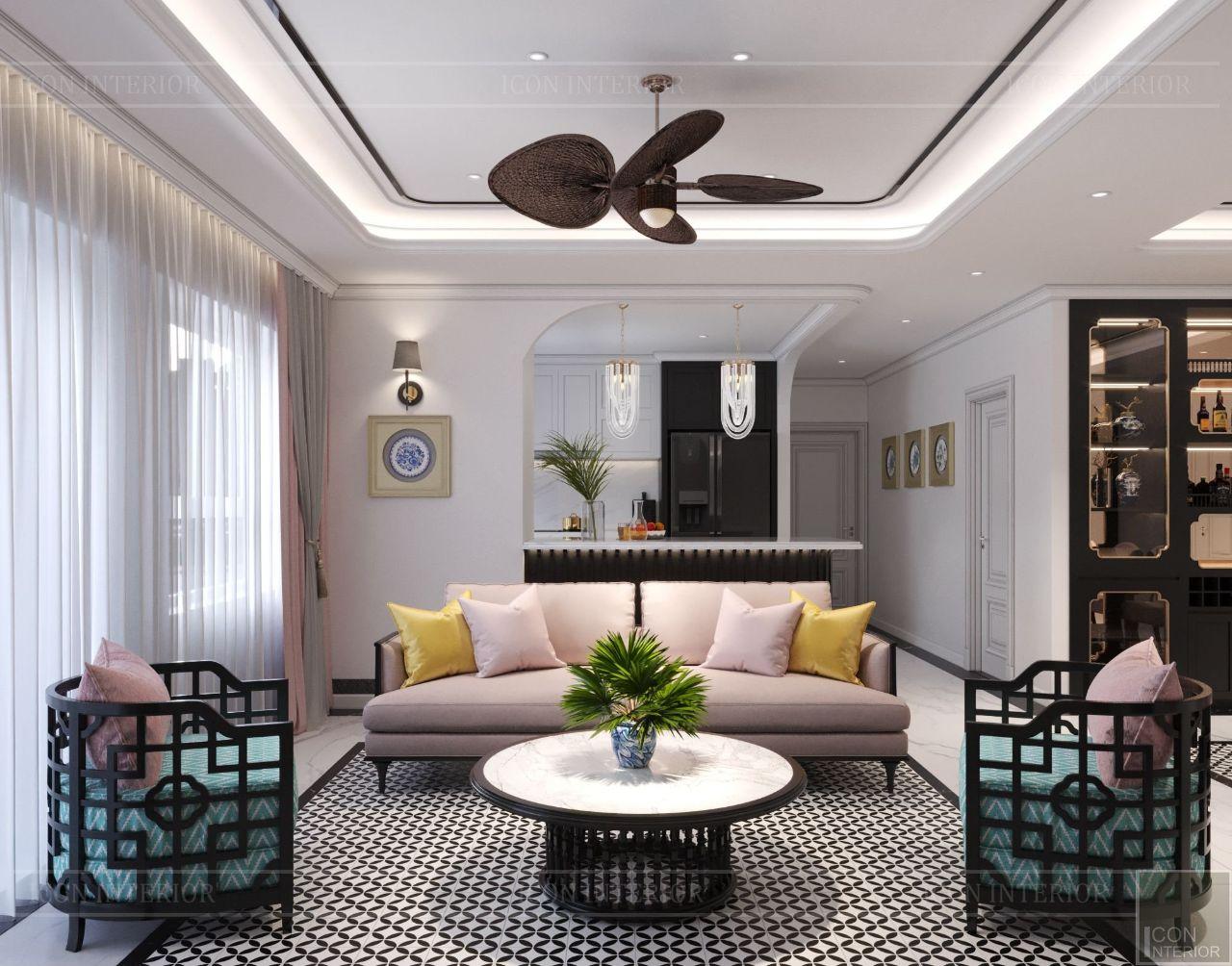 thiết kế chung cư 3 phòng ngủ đẹp