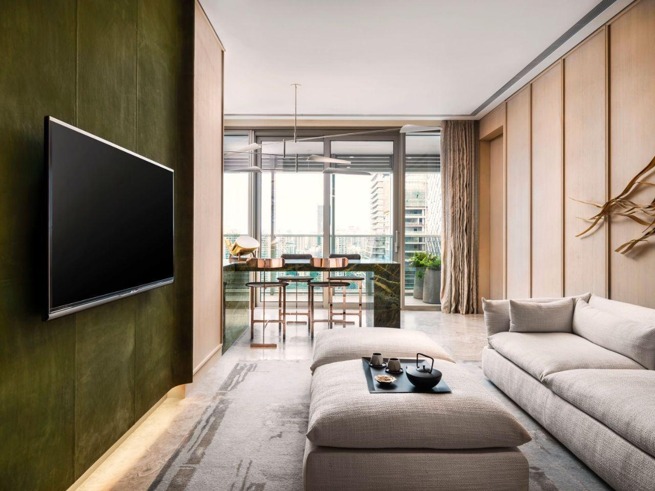 thiết kế nội thất phòng khách phong cách Nhật Bản