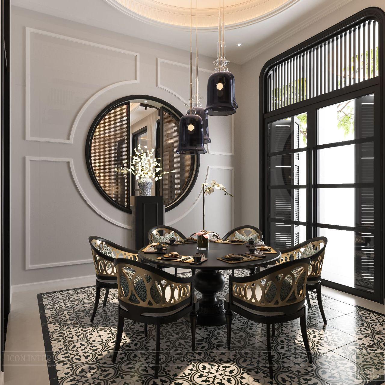 thiết kế nội thất biệt thự cao cấp đẹp