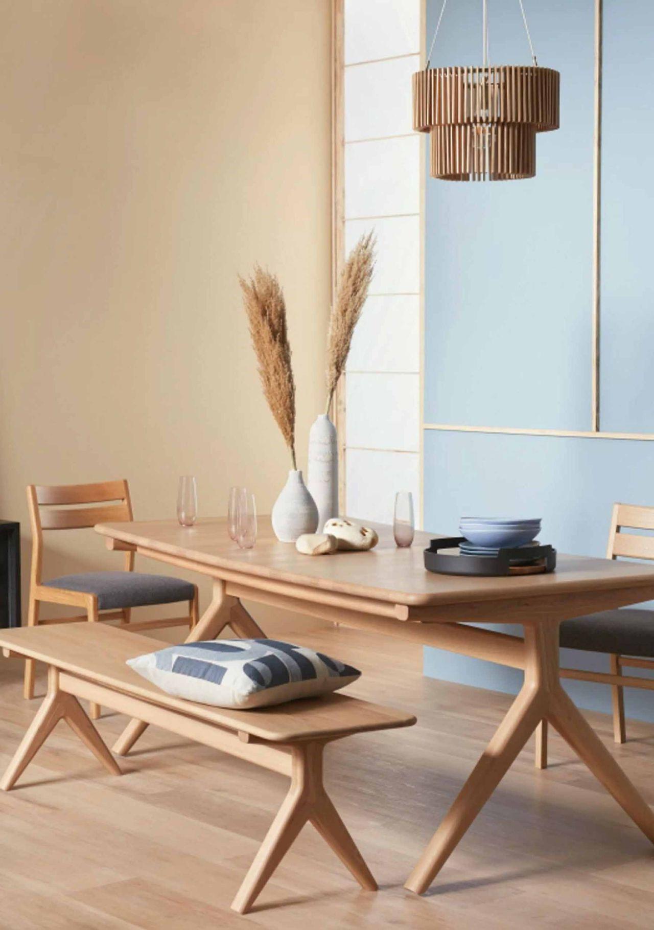 thiết kế phòng ăn phong cách Nhật Bản