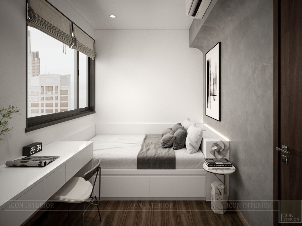 thiết kế thi công nội thất chung cư 75m2