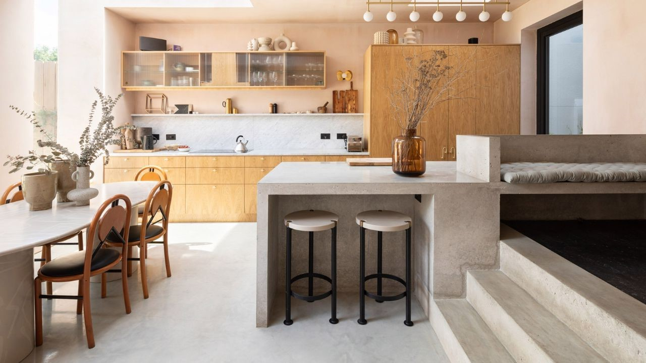 thiết kế thi công nội thất chung cư kiểu Nhật
