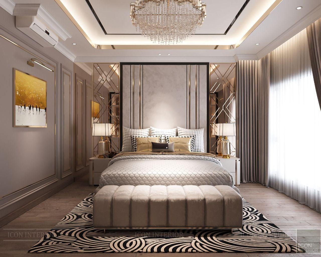 trang trí đầu giường chung cư Feliz En Vista