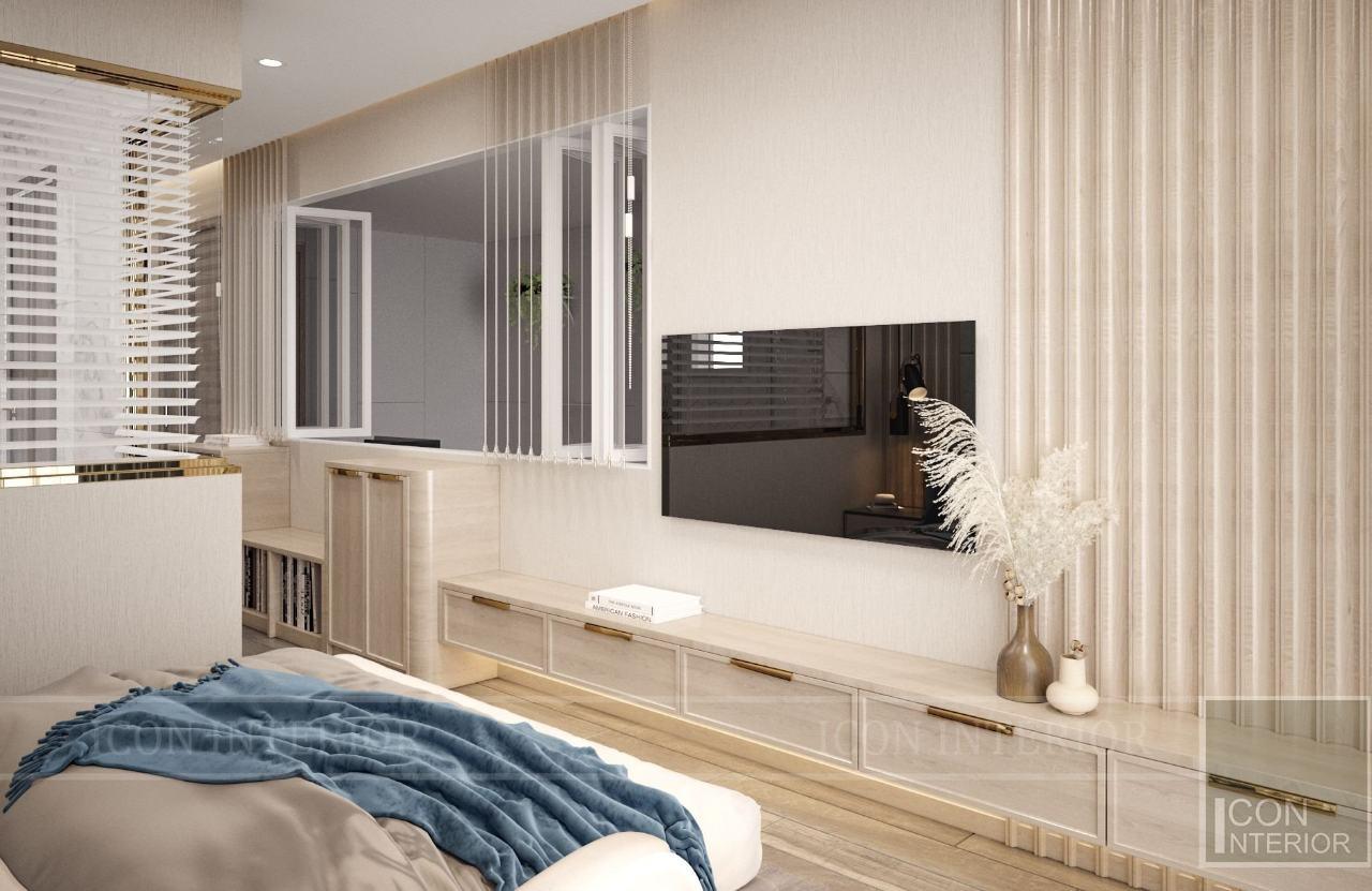 kệ tivi phòng ngủ đơn giản