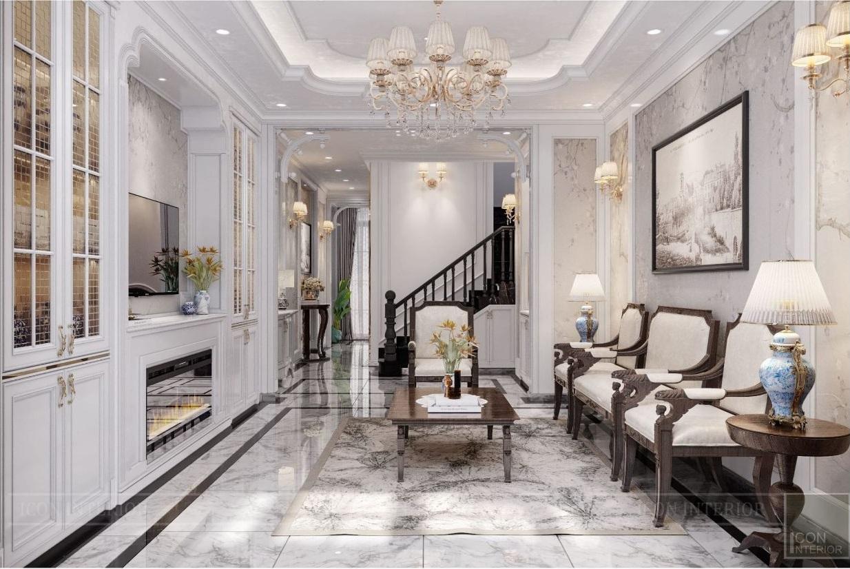 mẫu màu sơn phòng khách đẹp