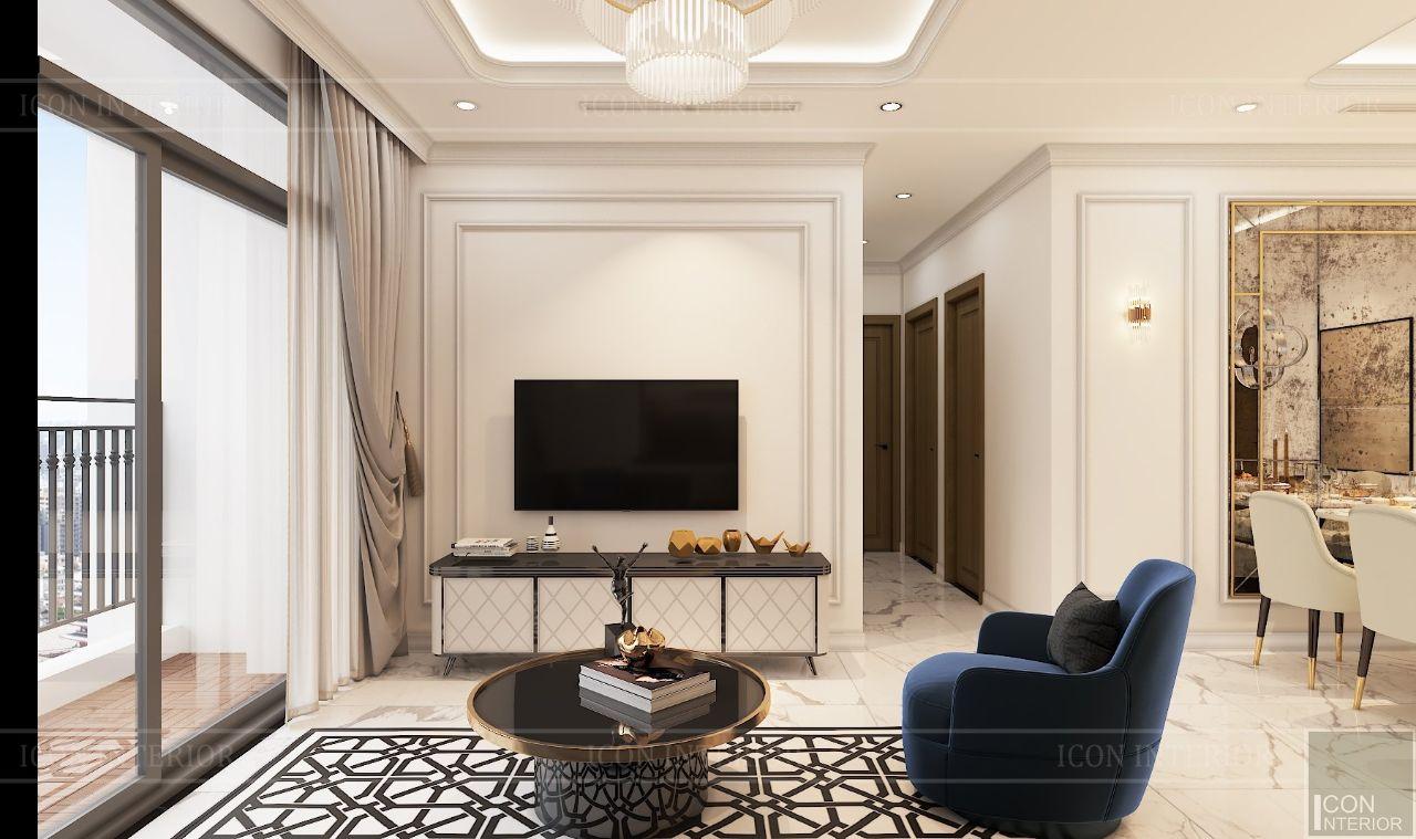 mẫu thiết kế phòng khách chung cư nhỏ