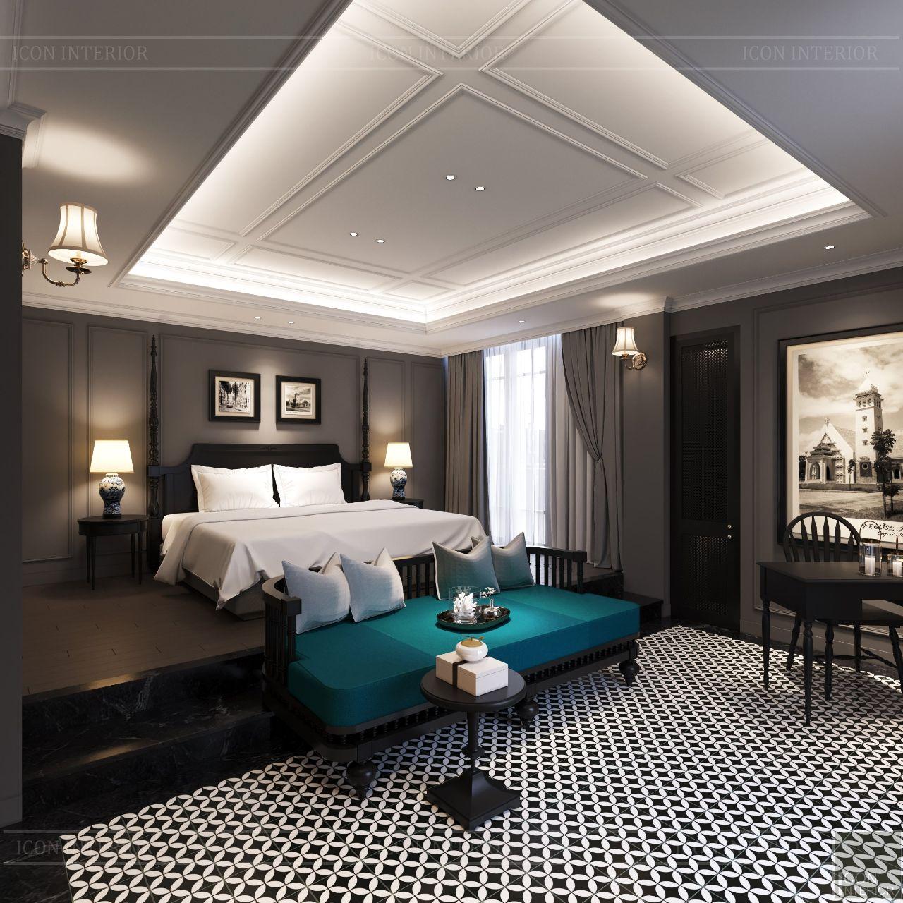 nội thất resort phong cách đông dương