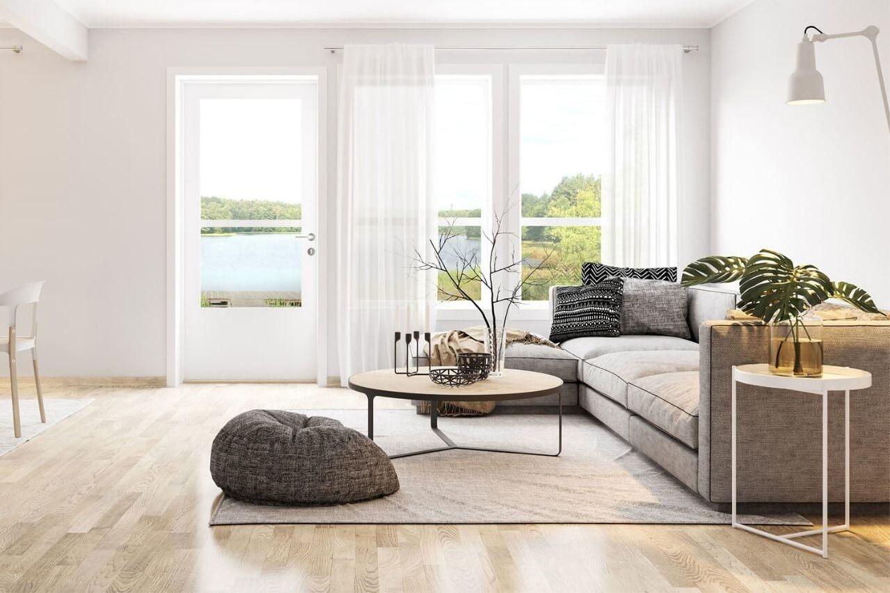sofa phong cách bắc âu