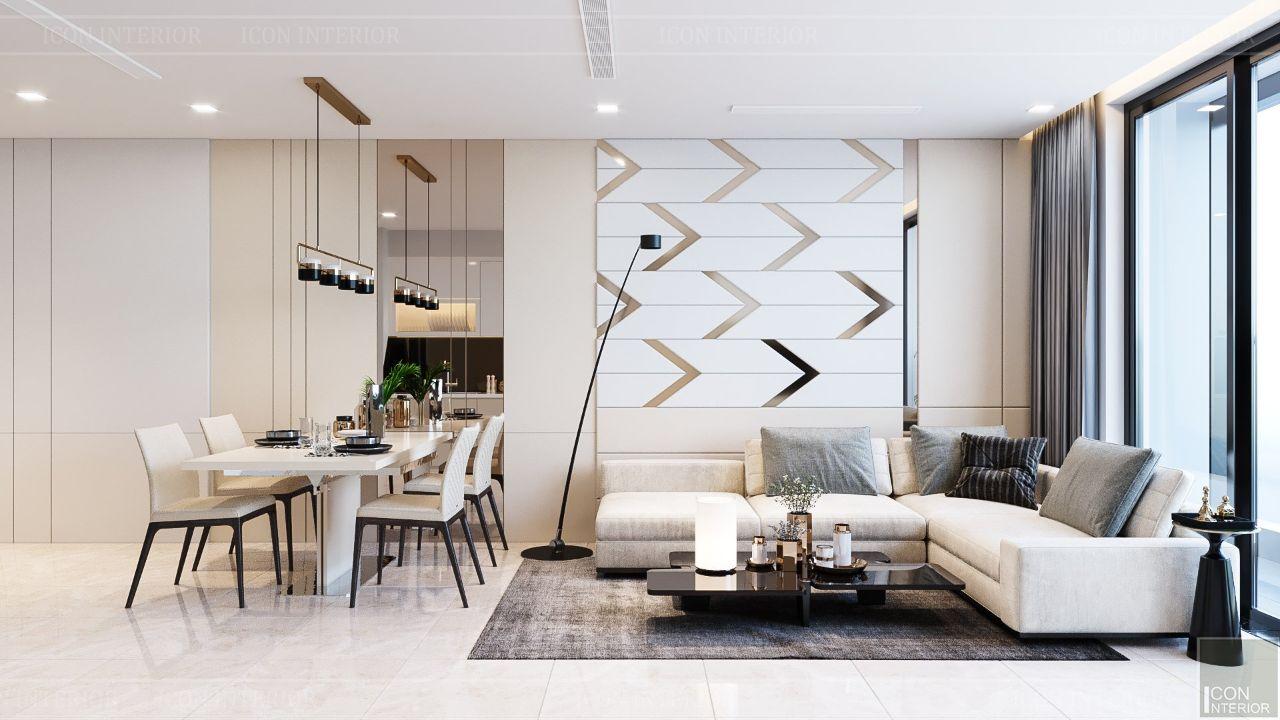 thiết kế phòng khách cho chung cư nhỏ