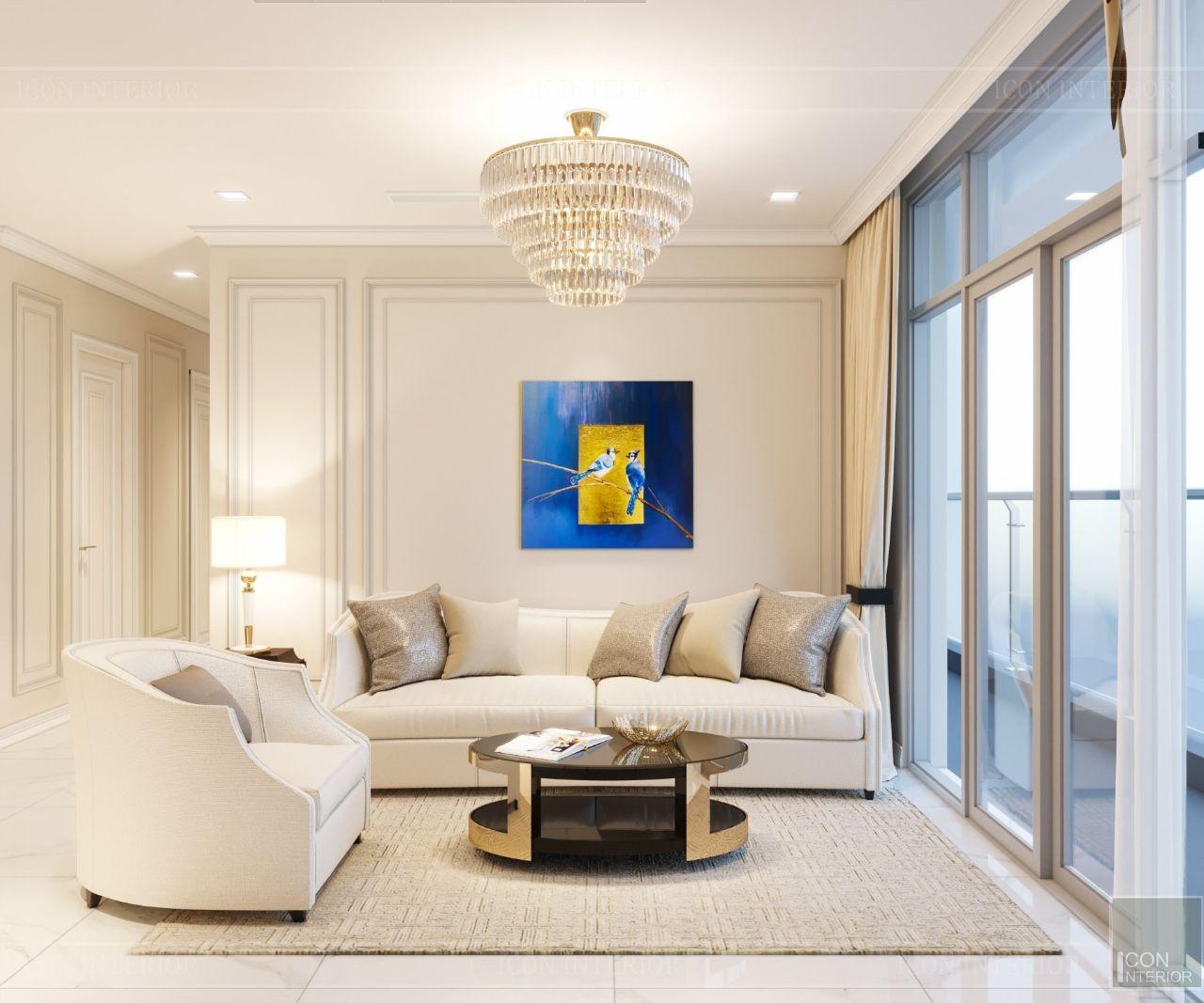 thiết kế phòng khách chung cư có diện tích nhỏ