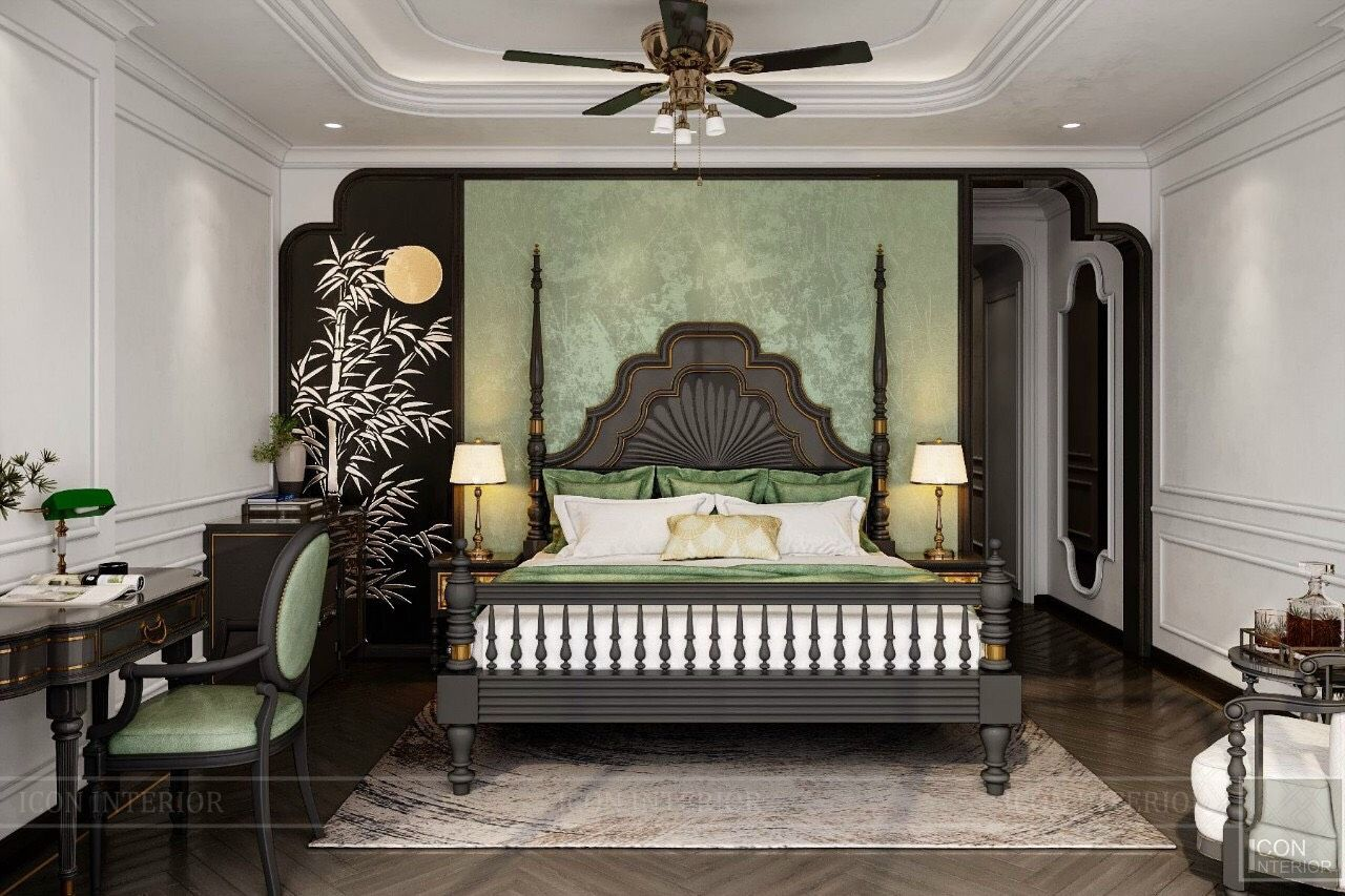 thiết kế resort phong cách indochine