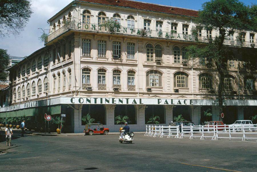 kiến trúc khách sạn phong cách đông dương