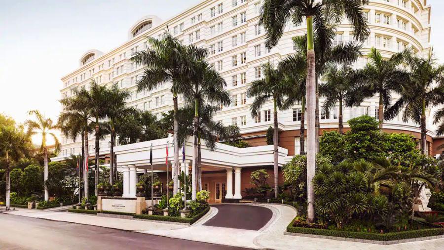 kiến trúc khách sạn phong cách đông dương cách tân