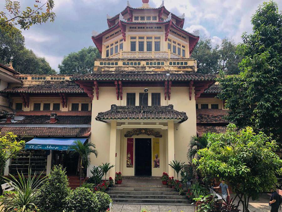 bảo tàng lịch sử việt nam mang kiến trúc đông dương