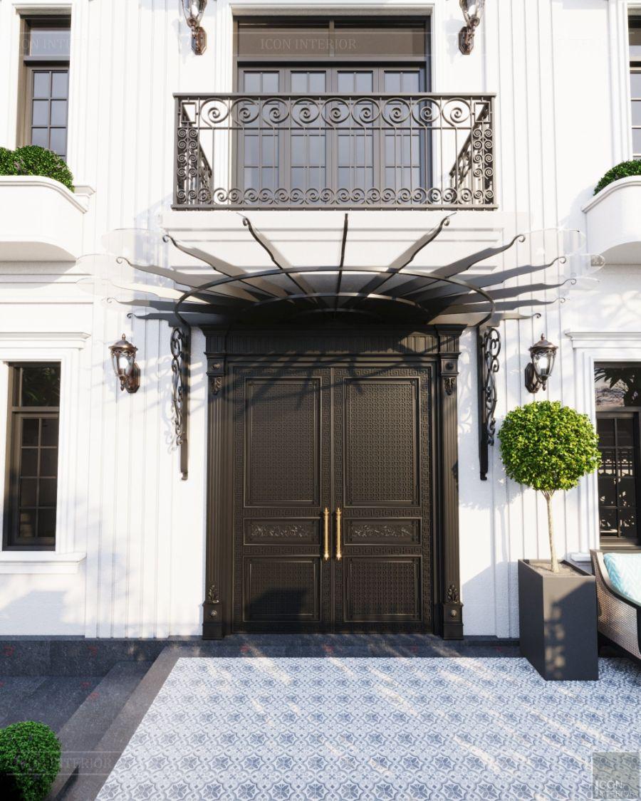 kiến trúc villa phong cách indochine