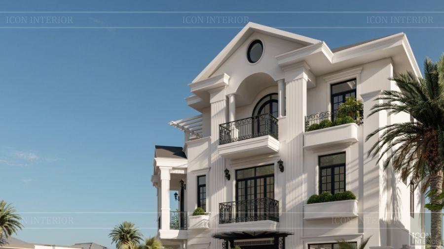 kiến trúc biệt thự indochine style