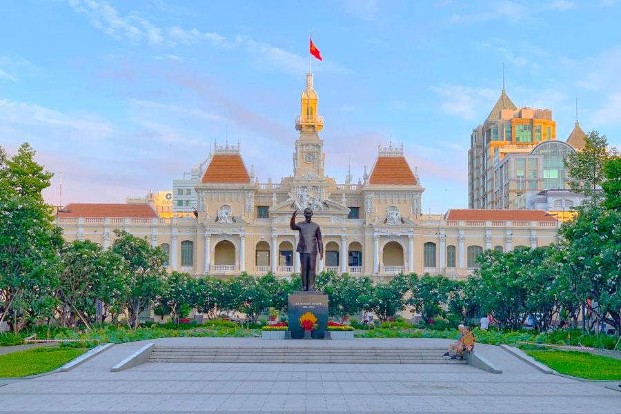kiến trúc đông dương ủy ban thành phố