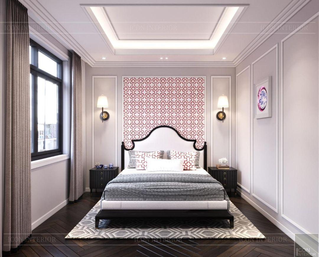 mẫu phòng ngủ phong cách indochine