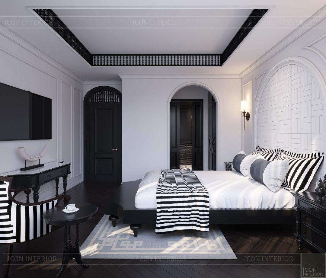 phòng ngủ indochine