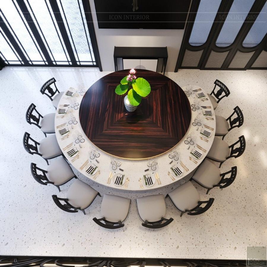 bàn ăn indochine