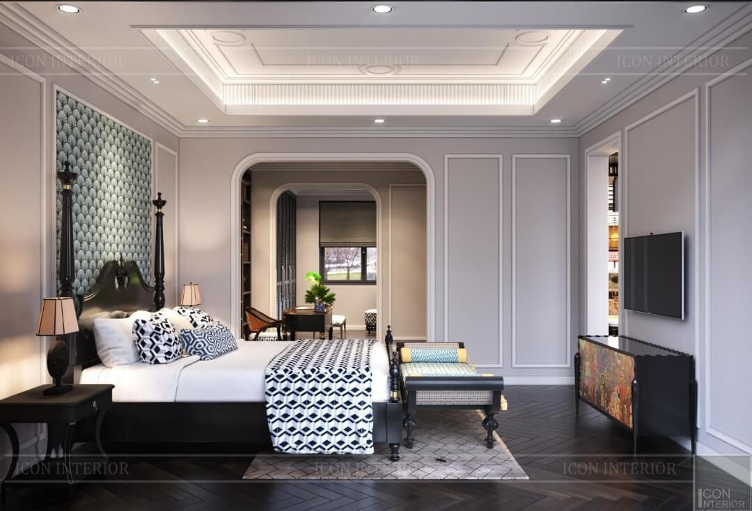 Bedroom villa design