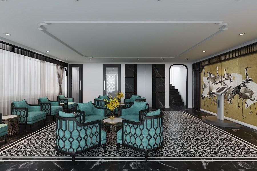 phong cách khách sạn đông dương