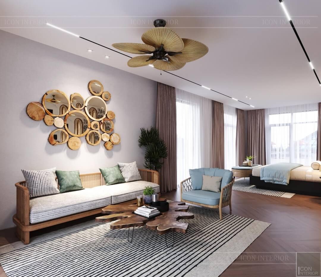 Luxury bedroom villa design