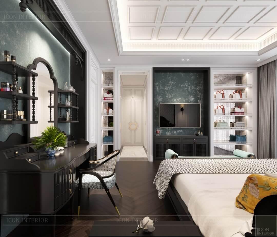 Phòng ngủ của biệt thự